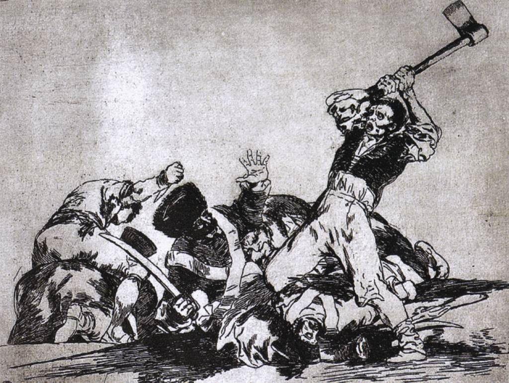 Bild zeigt Francisco de Goya - War Gemälde