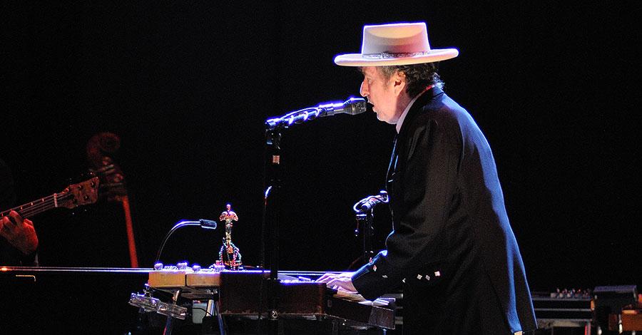 Bild von Bob Dylan auf Festival Internacional de Benicassim