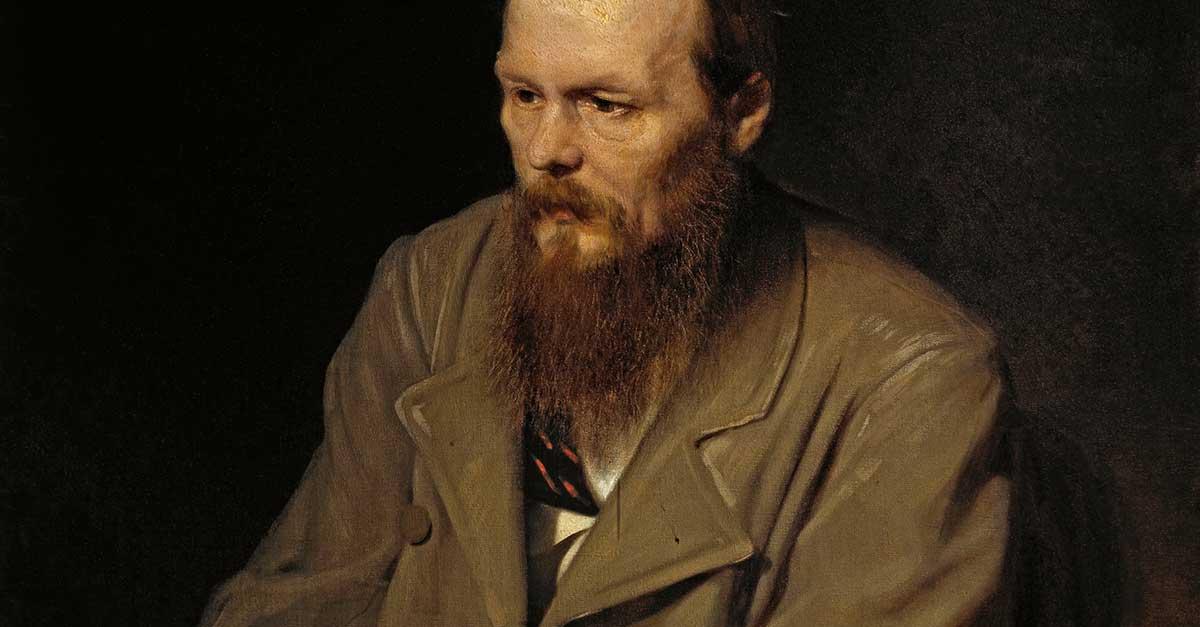 Bild zeigt Dostojewski