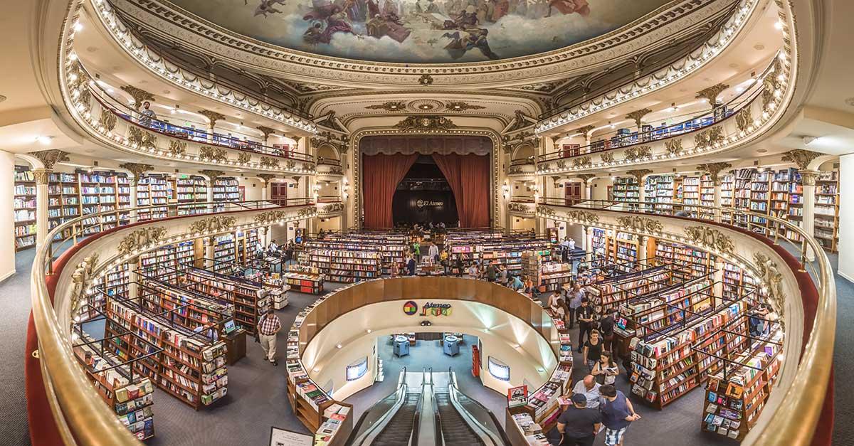 Bild zeigt El Ateneo Grand Splendid Buchhandlung