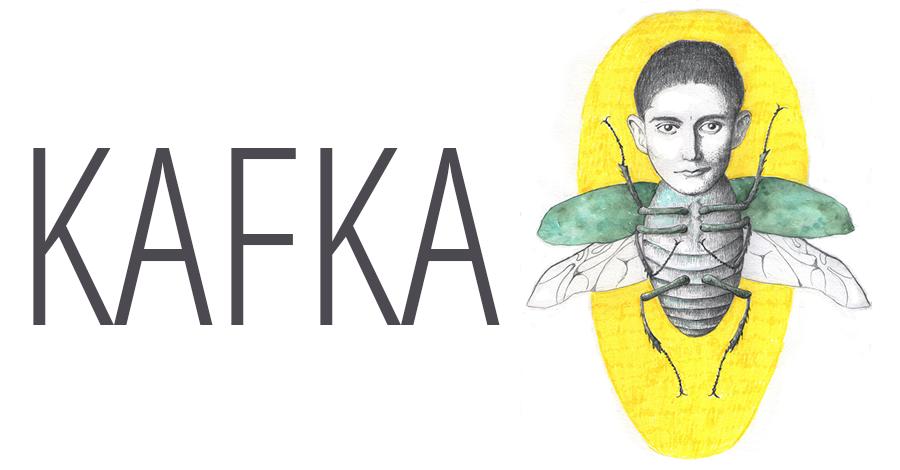 Bild einer Illustration von Franz Kafka