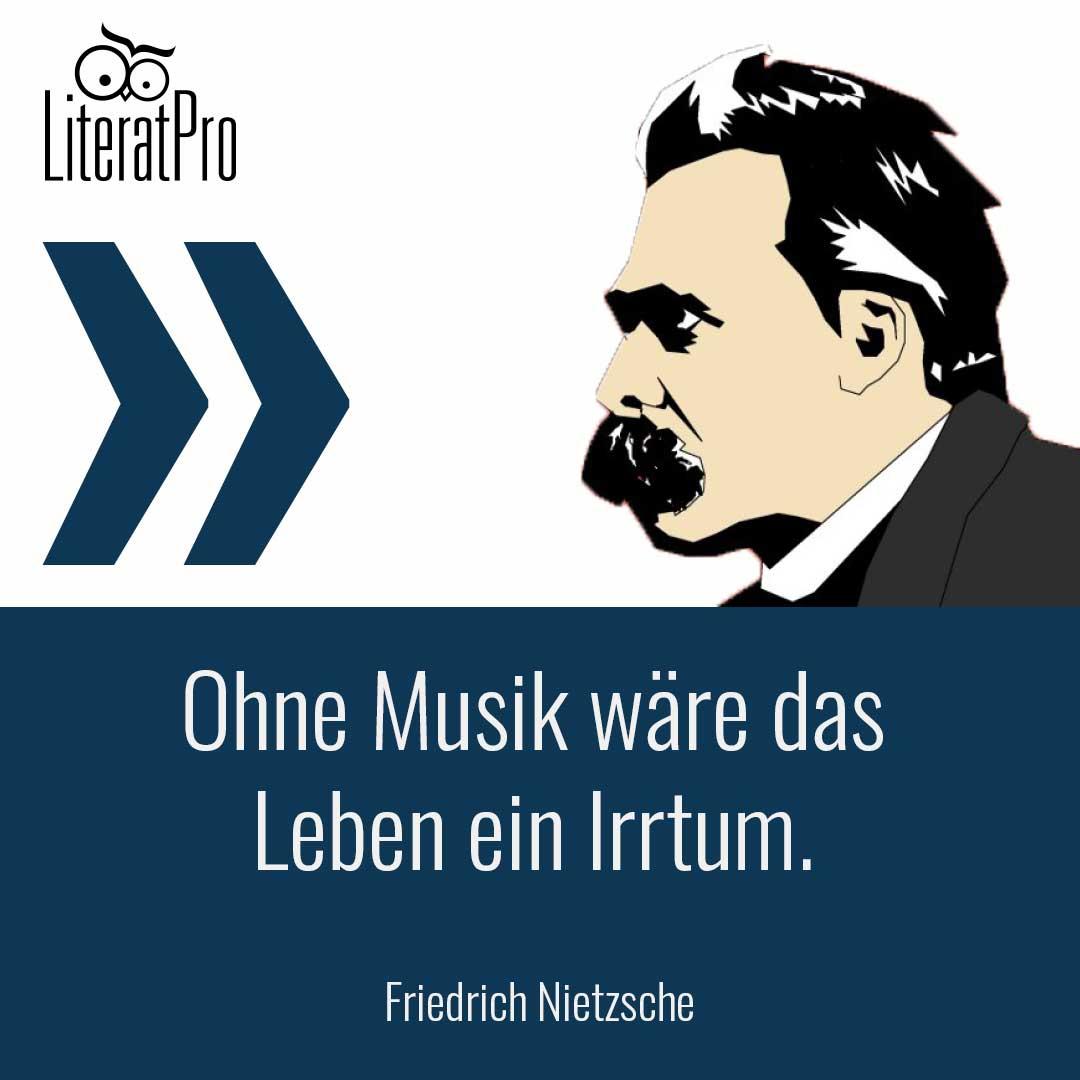 Bild zum Zitat Ohne Musik wäre das Leben ein Irrtum
