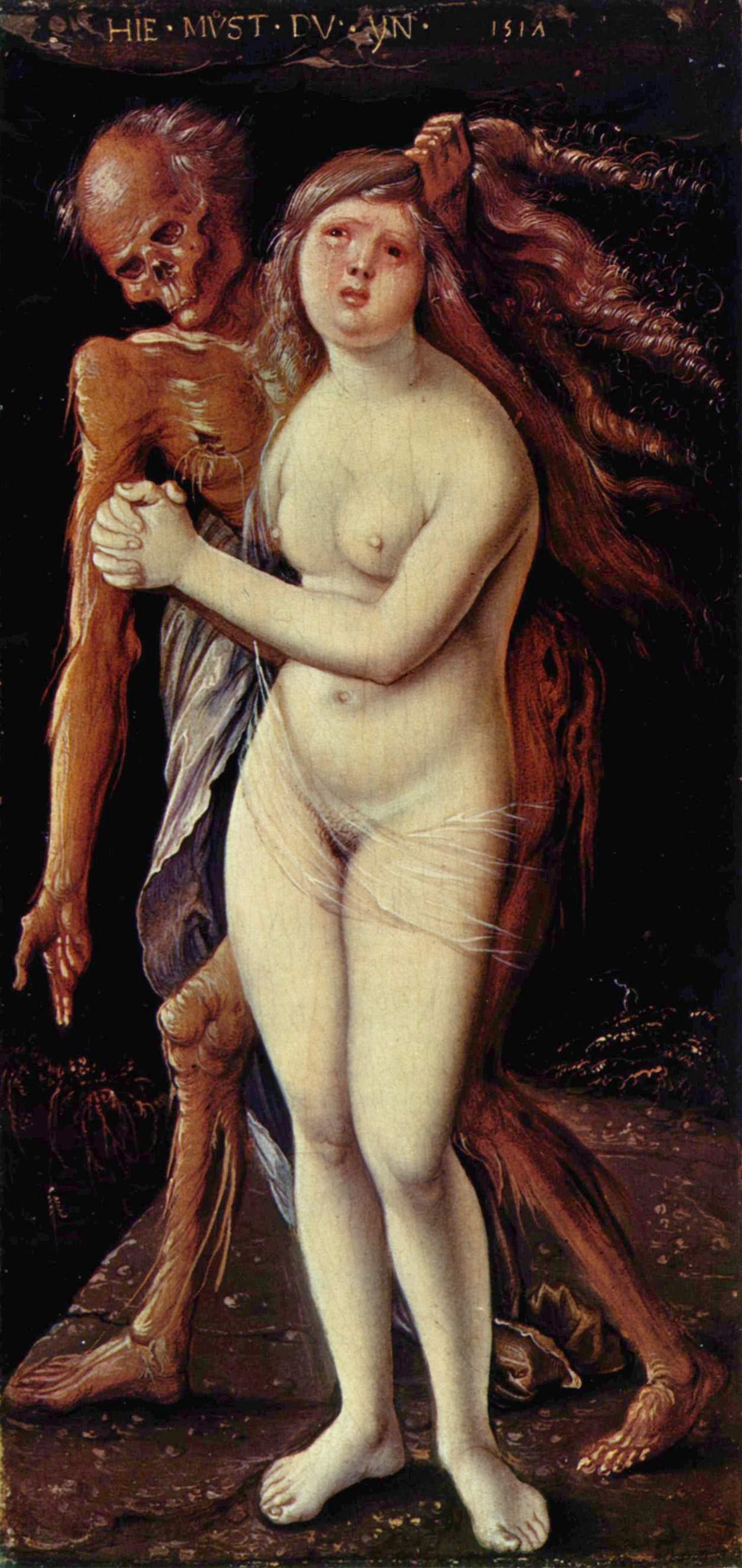 Bild zeigt Hans Baldung - der Tod und das Mädchen