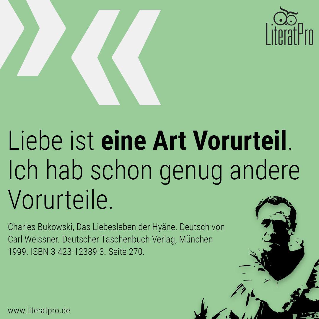 Bild Zitate mit Zitat von Bukowski
