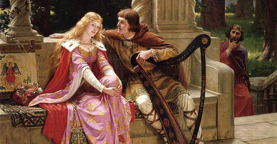Bild von Tristan und Isolde Liebe in der Literatur