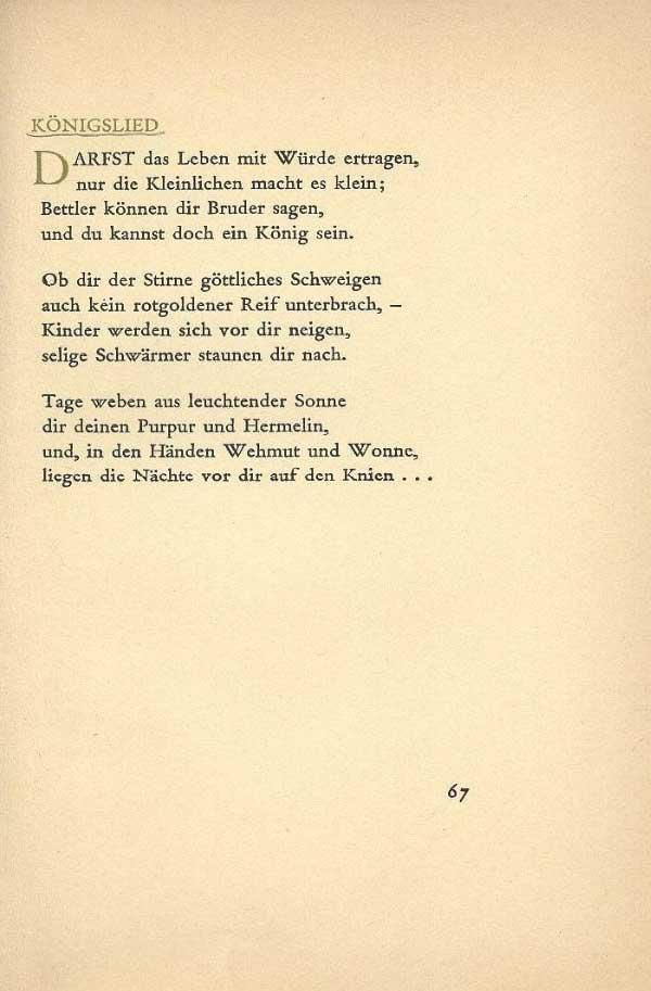 Gedicht rilke reisen