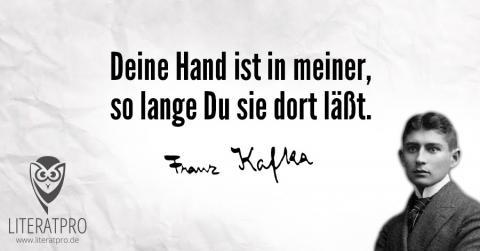 Bild zum Zitat von Franz Kafka