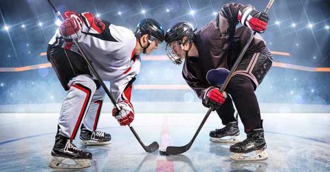 Bild zeigt Hockeyspieler