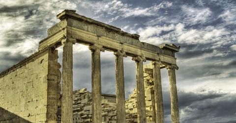 Bild zeigt Ruinen in Griechenland