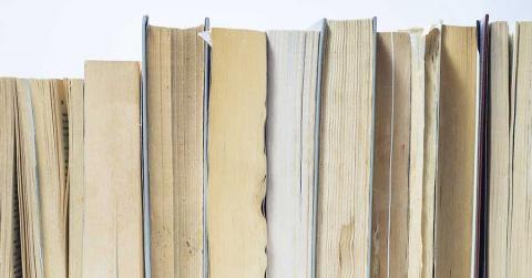 Bild zeigt Bücher mit Anagrammen