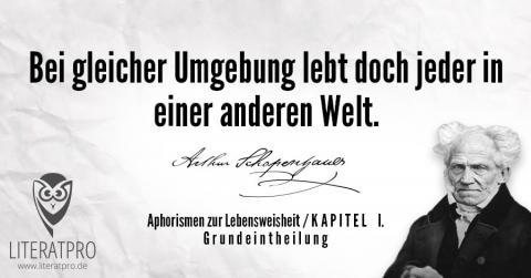 Bild zum Zitat von Arthur Schopenhauer