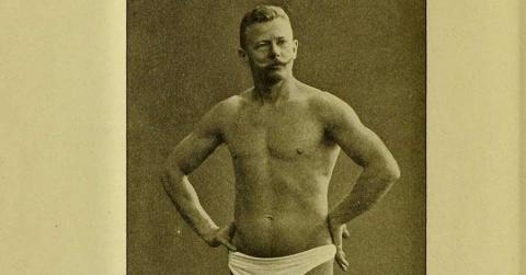 Bild zeigt Jørgen Peter Müller - diesem Vorbild folgte Franz Kafka