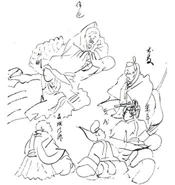 Die sechs Tanka Dichter