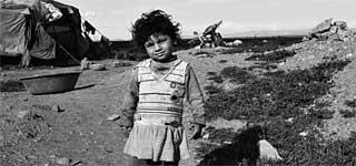 Bild von Flüchtlingskind für Kategorie Gedichte Flüchtlinge